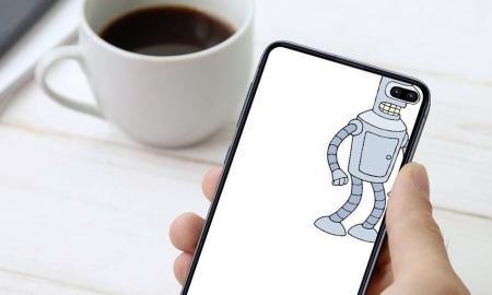 Samsung Galaxy S10 Plus Wallpaper Bender
