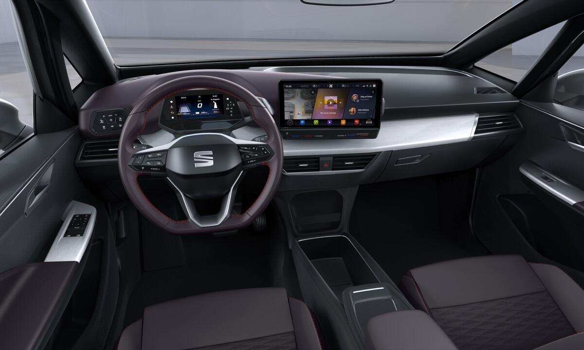 Seat El Born Elektroauto Bild1