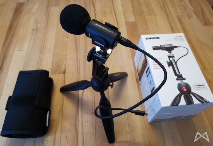 Shure Mv88+ Video Kit Aufbau