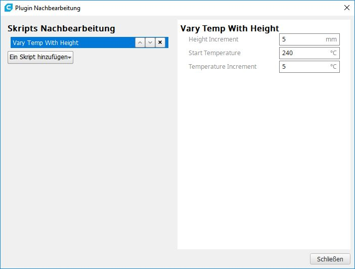 Vary Temp Height