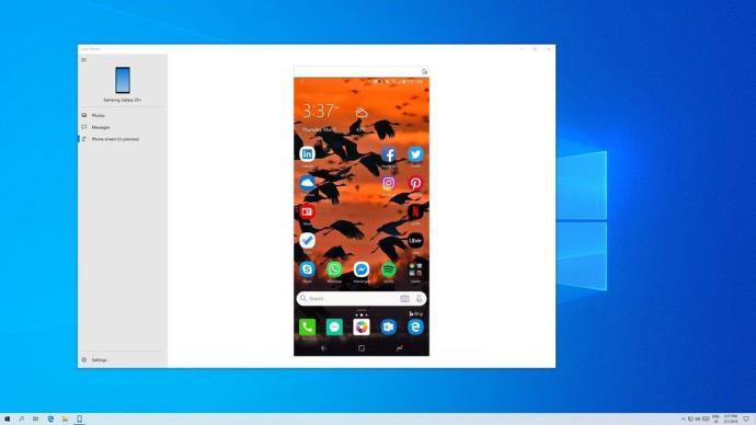 Windows 10 Android Smartphone Phone App
