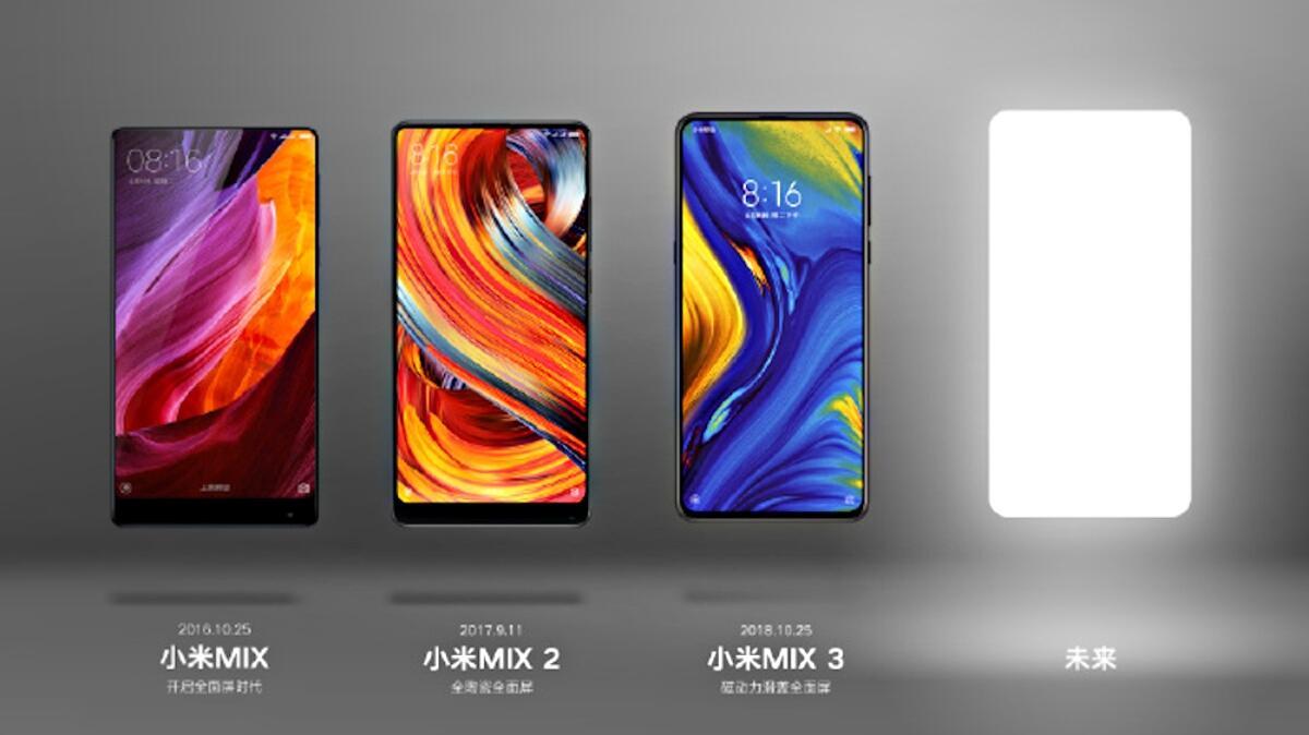 Xiaomi Mi Mix 3s 4 Teaser