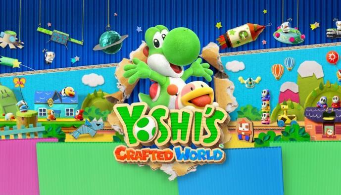 Yoshi Crafted World Header