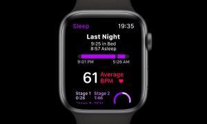 Apple Watch Watchos 6 Konzept Schlaf