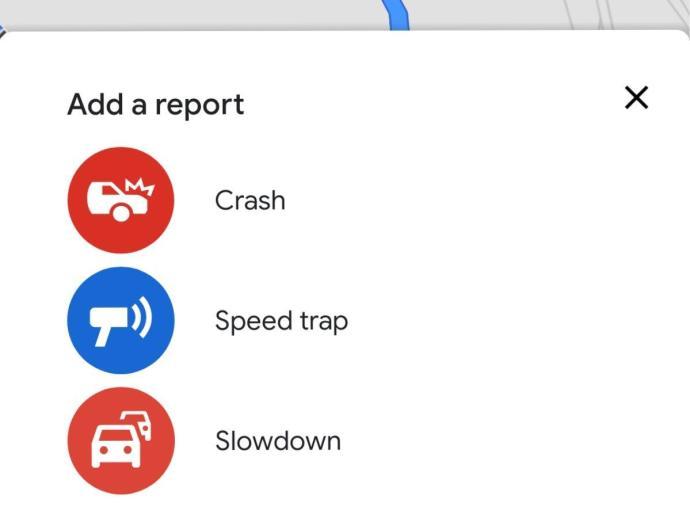 Google Maps Staumeldung