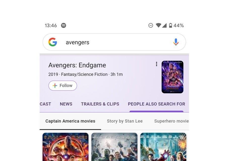 Google Suche Optik Neu