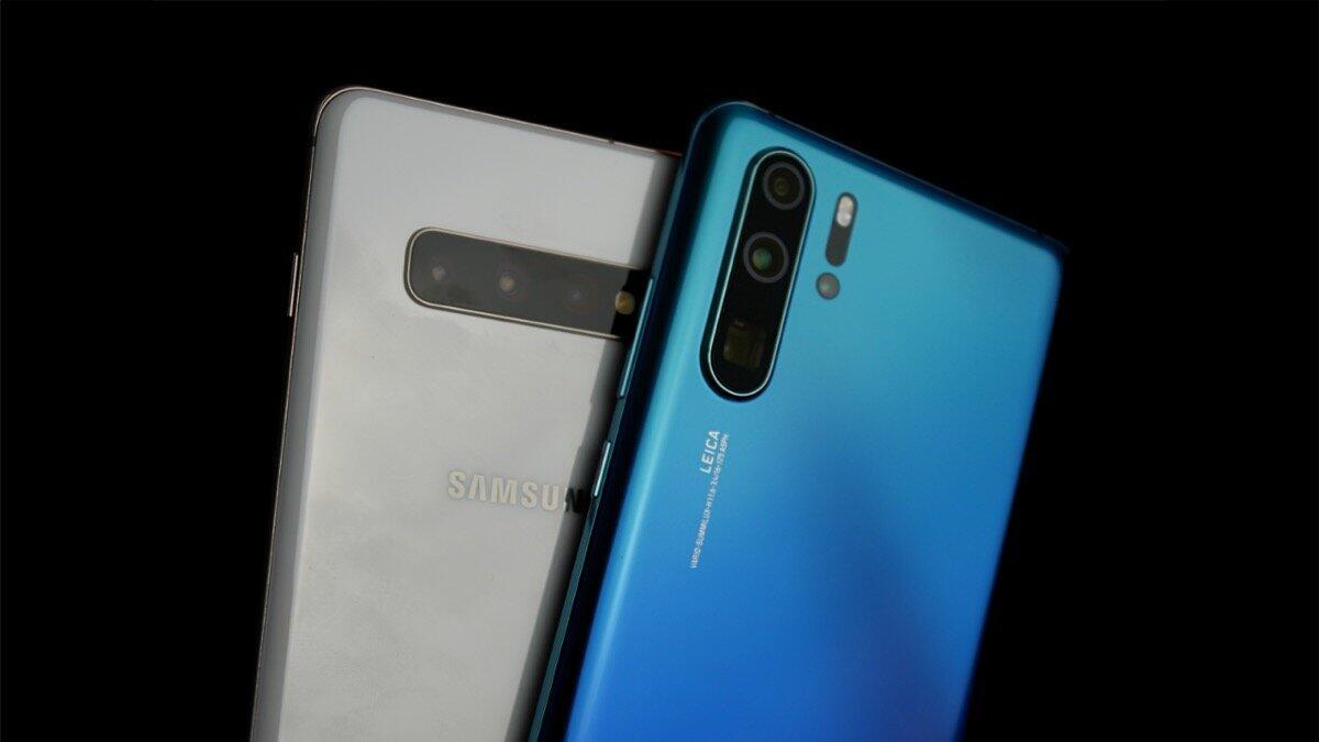 Vergleich Samsung S10 Und Huawei P30