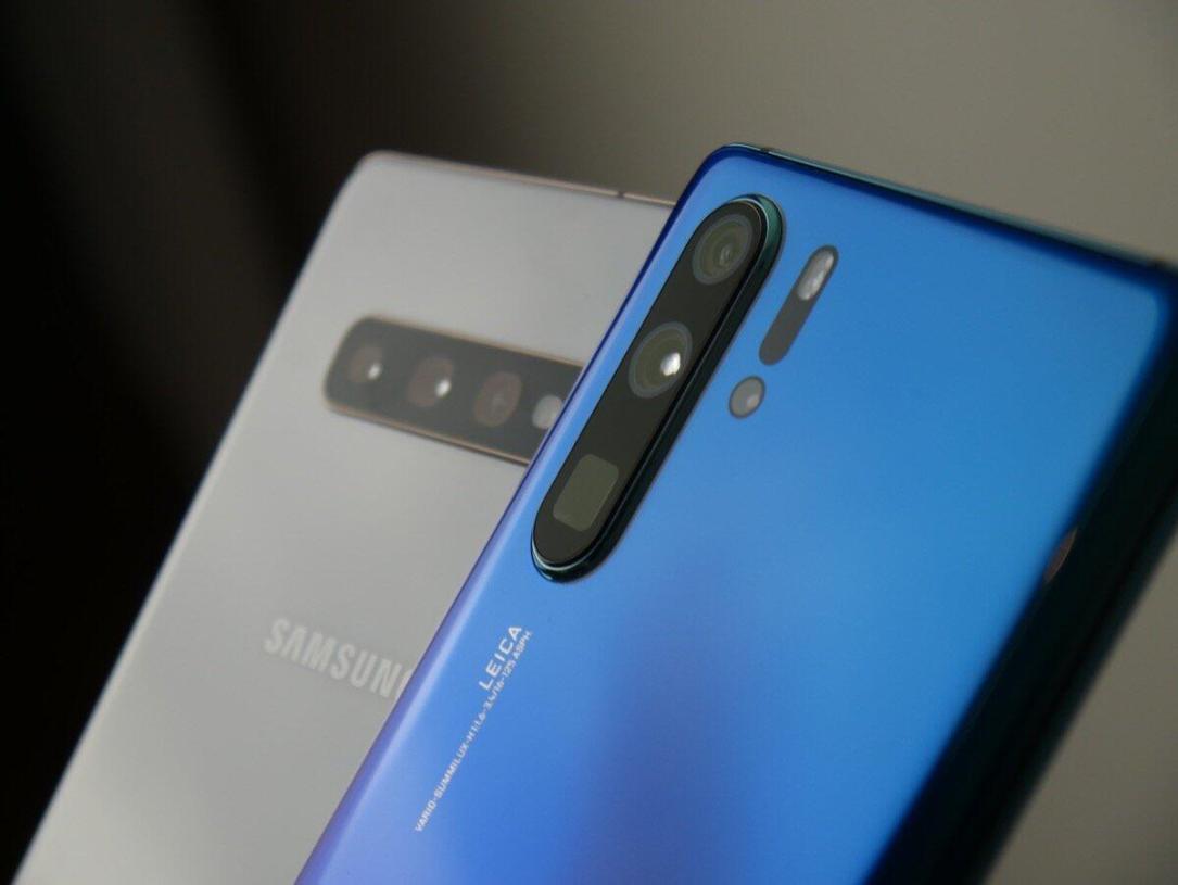 Huawei P30 Pro Samsung Galaxy S10 Vgl1
