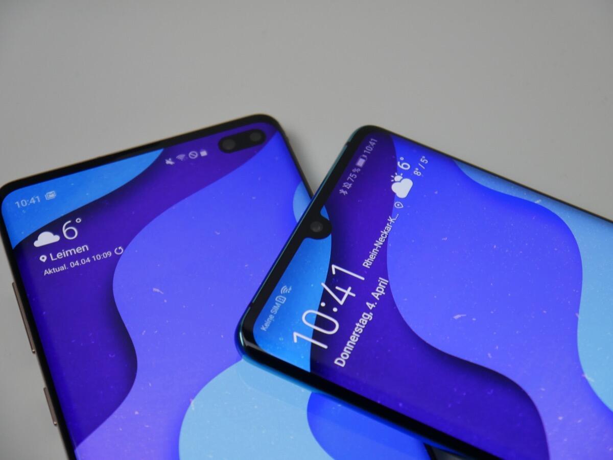 Huawei P30 Pro Samsung Galaxy S10 Vgl3
