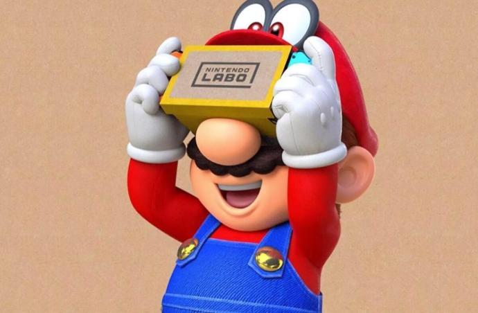 Nintendo Super Mario Vr
