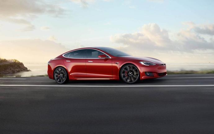 Tesla Model S Rot Header