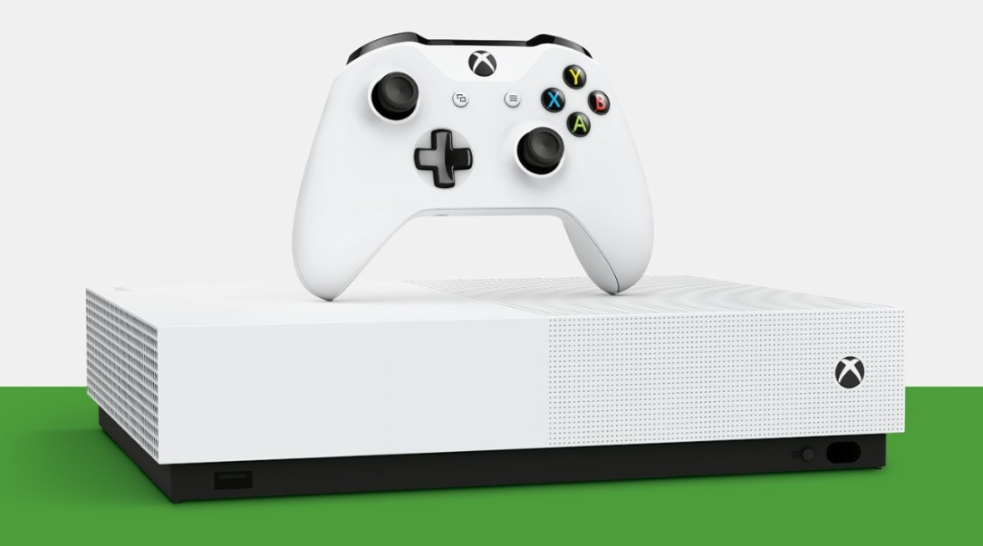Xbox One S Digital Header