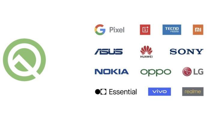 Android Q Beta Hersteller
