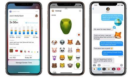 Apple Ios 12 Header