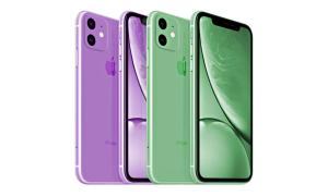 Apple Iphone Xr 2019 Farben Neu Mockup