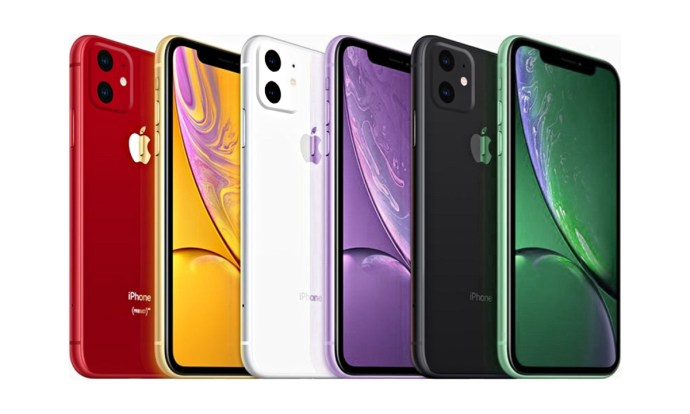 Apple Iphone Xr 2019 Mockup