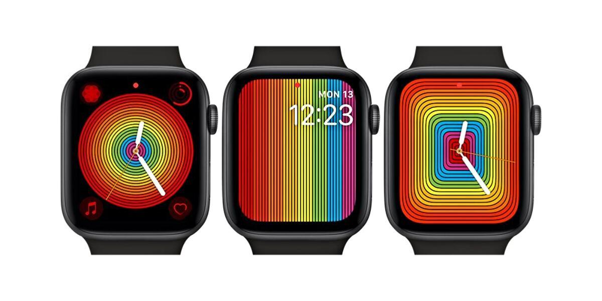 Apple Watch Pride Watchface 2019