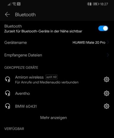 Beyerdynamic Amiron Wireless Aptx Hd