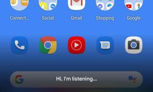 Google Assistant Design Neu Bottom
