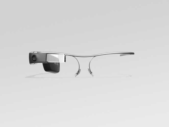Product Photography Of The Google Glass Wearable.