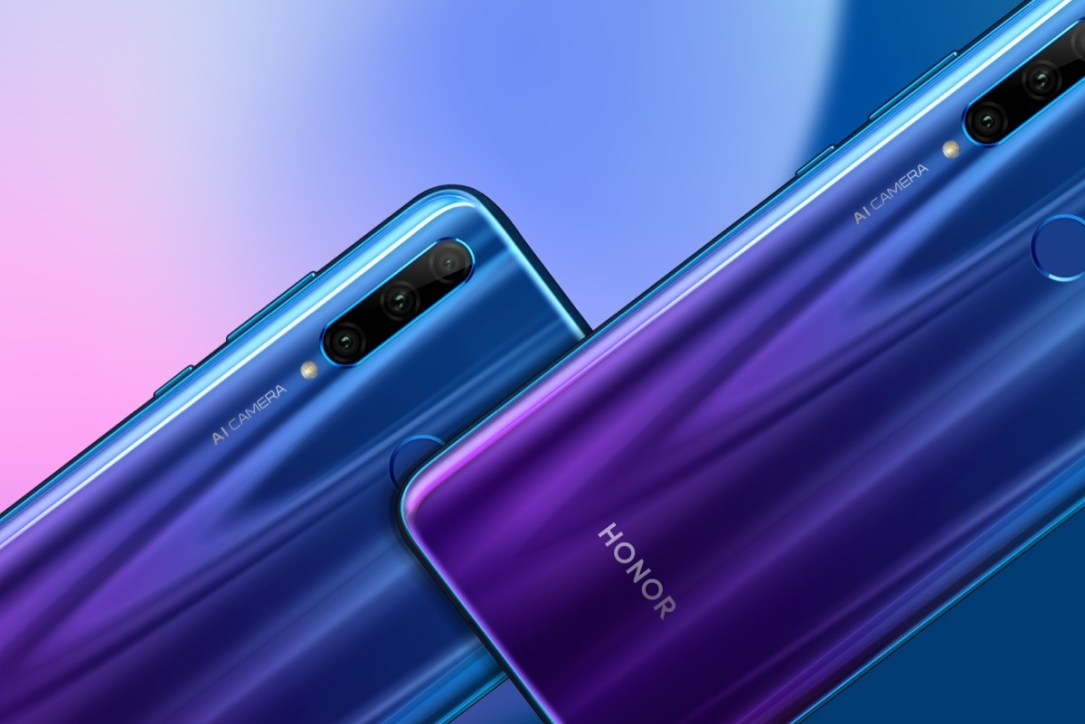 Honor 20 Lite Phantom Blue & Phantom Blue