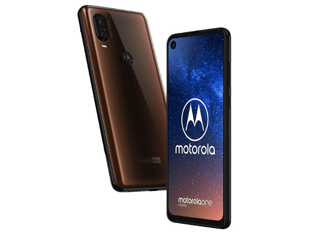 Motorola One Vision Leak Braun