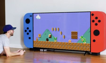 Nintendo Tv Rack