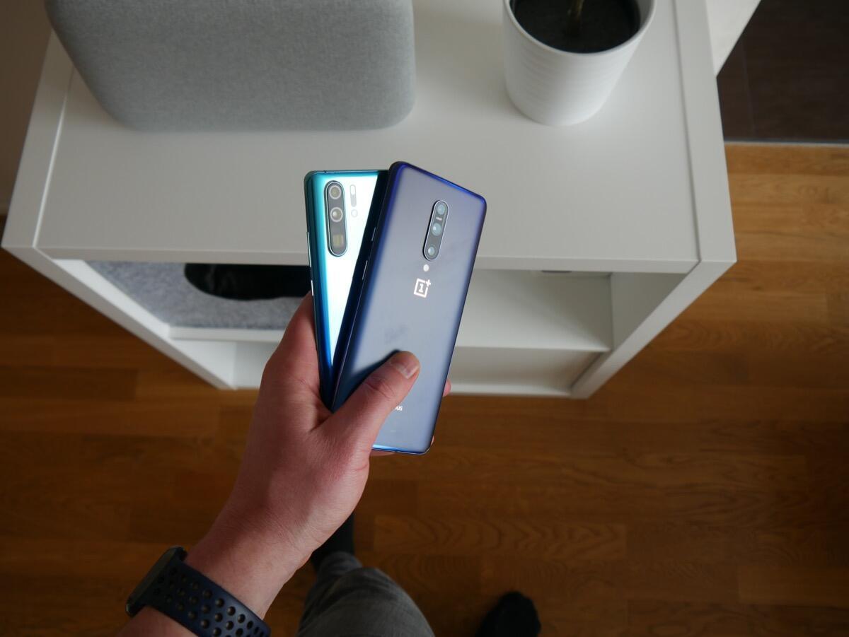 Oneplus 7 Pro Huawei P30 Pro Test6