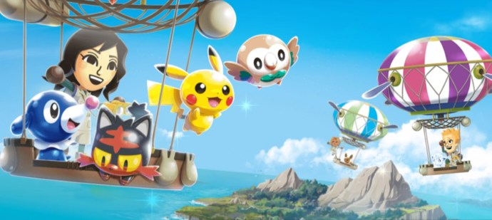 Pokemon Rumble Rush Header