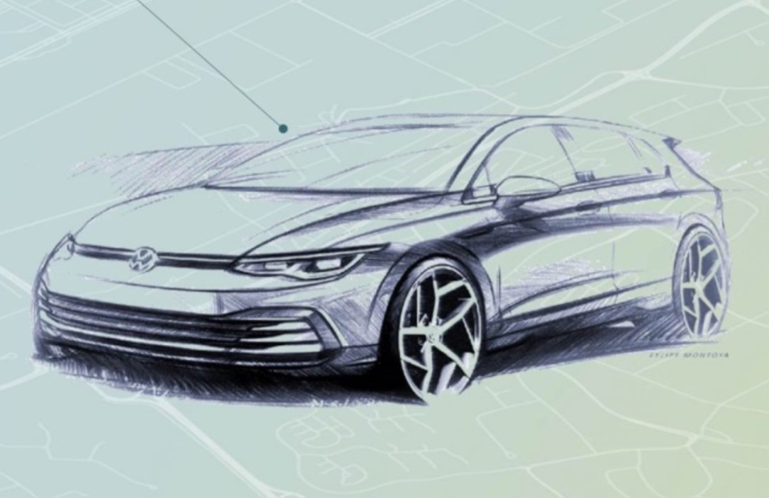 Vw Golf 8 Design