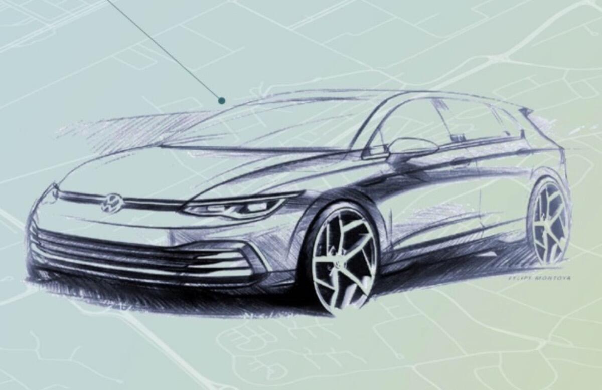 Vw Golf 8 Design