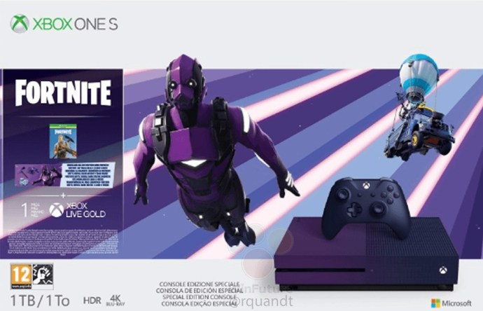Xbox One S Fortnite Leak