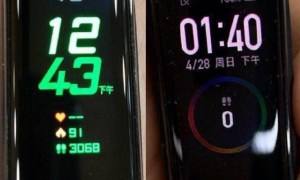 Xiaomi Mi Band 4 Leak Display