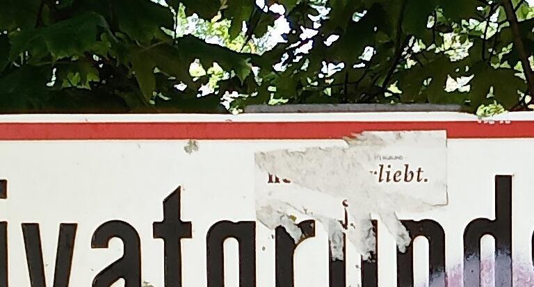 Zte Blade V10 Schatten Details Crop