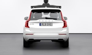 254704 Volvo Cars And Uber Present Production Vehicle Ready For Self Driving