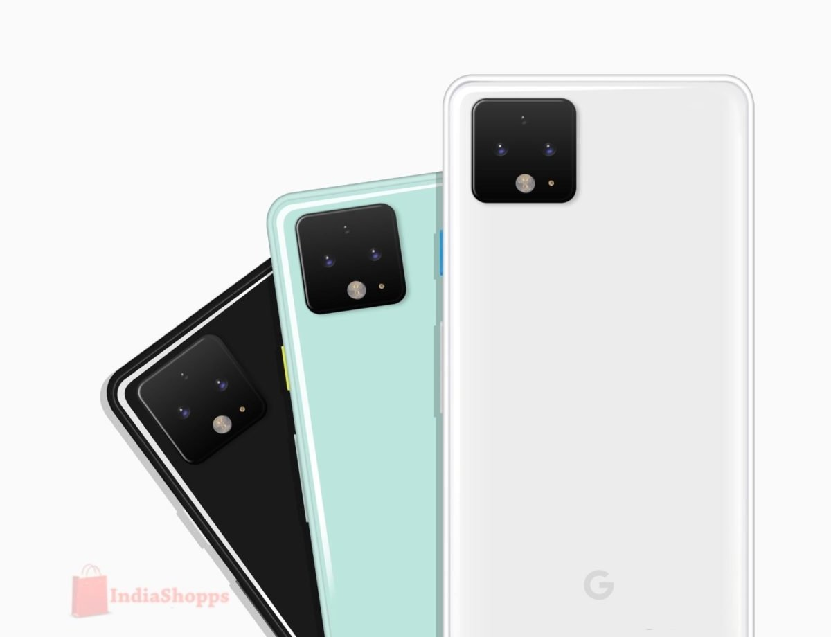Google Pixel 4 Render Final Kamera