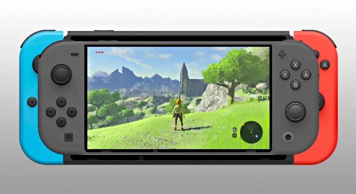 Nintendo Switch Mini Mockup