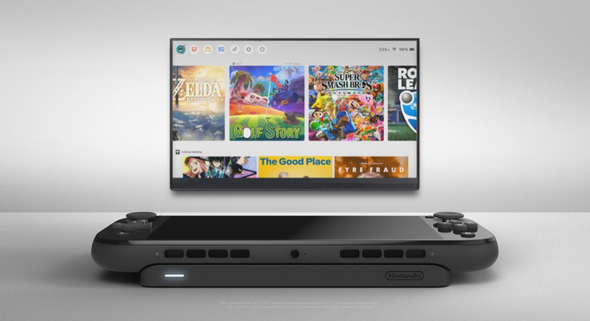 Nintendo Switch Up Konzept Dock2
