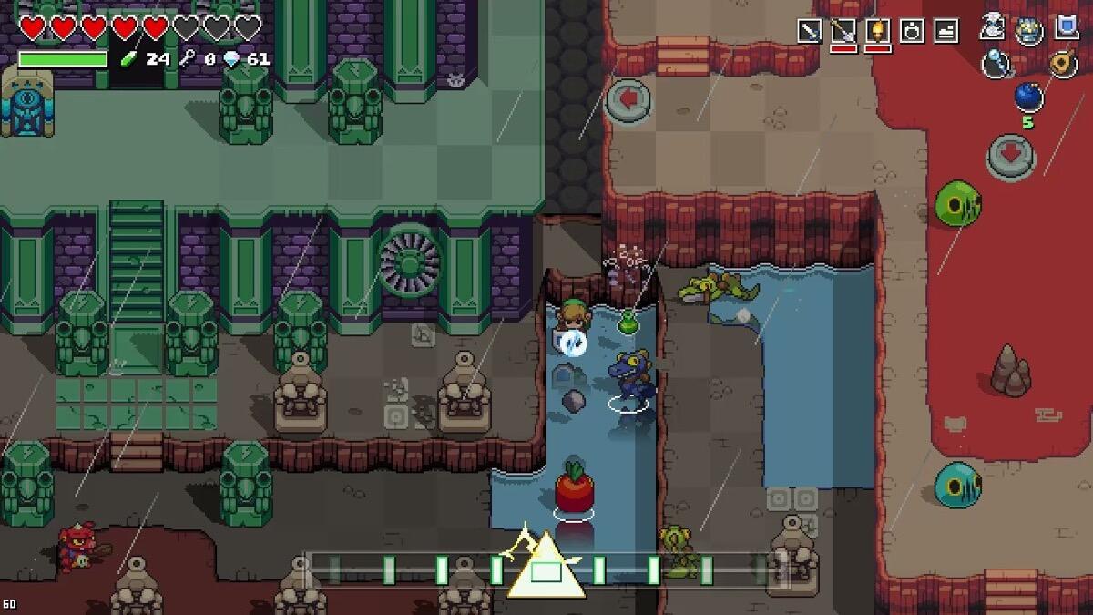 Nintendo Switch Zelda Crossover Screen4