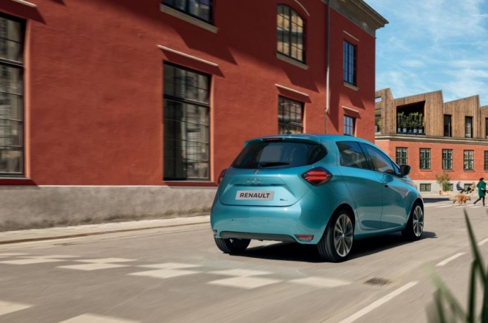 Renault Zoe Back