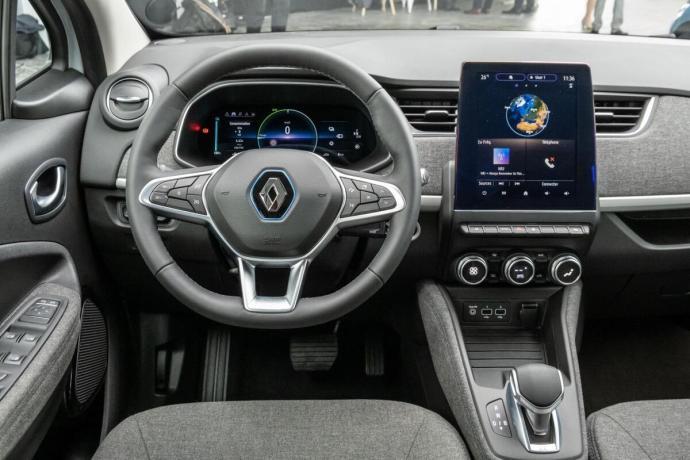 Renault Zoe Innen