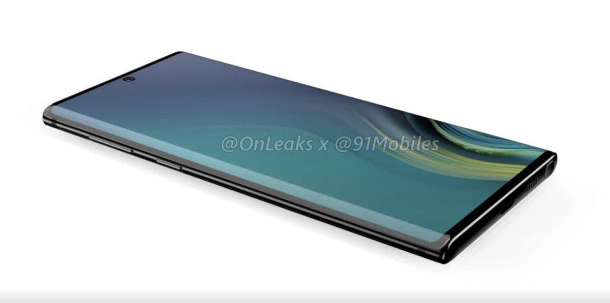 Samsung Galaxy Note 10 Leak 1