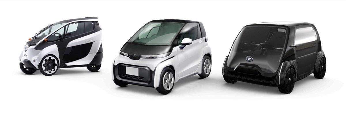 Toyota Elektro Auto Kompakt