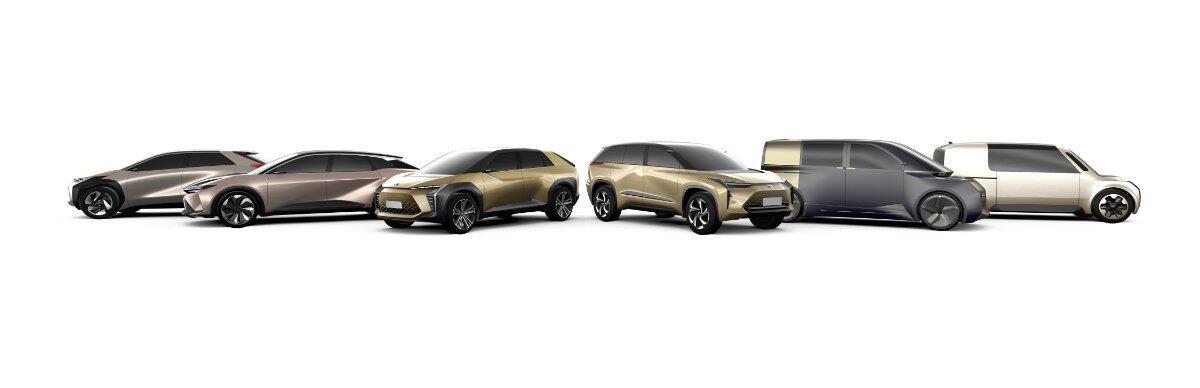 Toyota Elektroauto Konzepte
