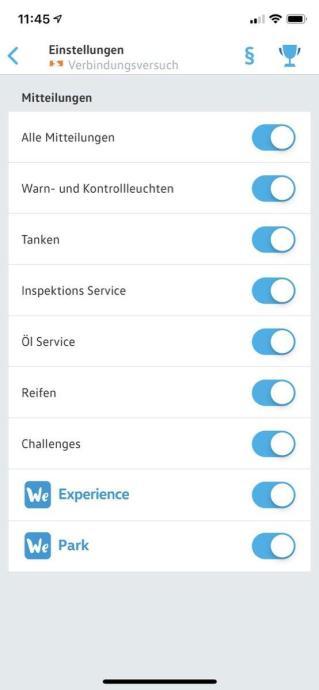 Volkswagen Connect App 1