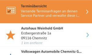 Volkswagen Connect App 7