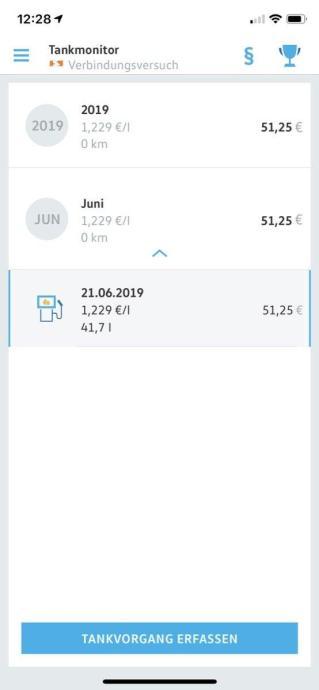 Volkswagen Connect App 8