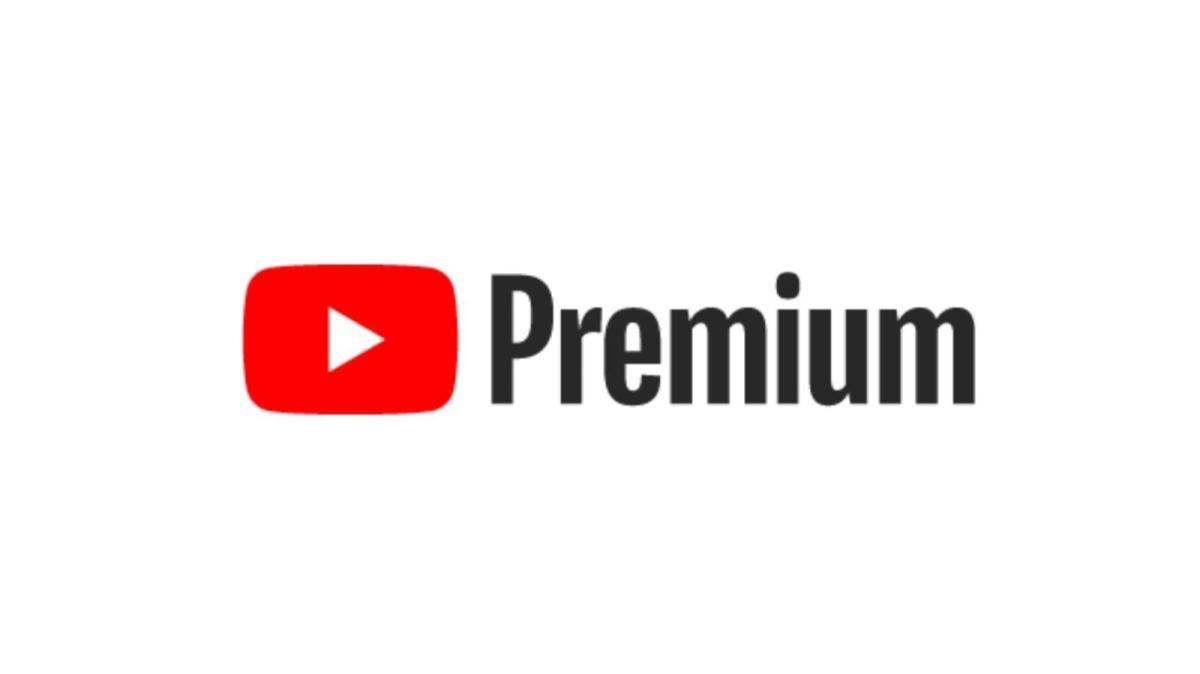 Youtube Premium Logo White