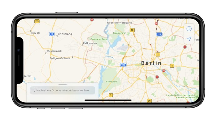 Apple Maps Karten