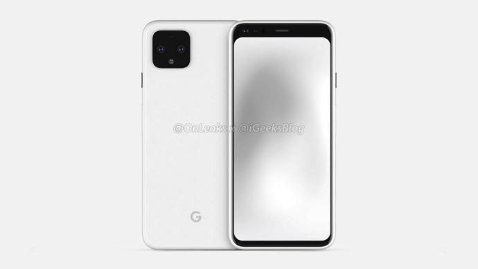 Google Pixel 4 Render Leak